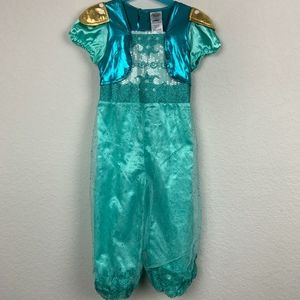 Shimmer And Shine Costume Blue Green Sz: 5-6T